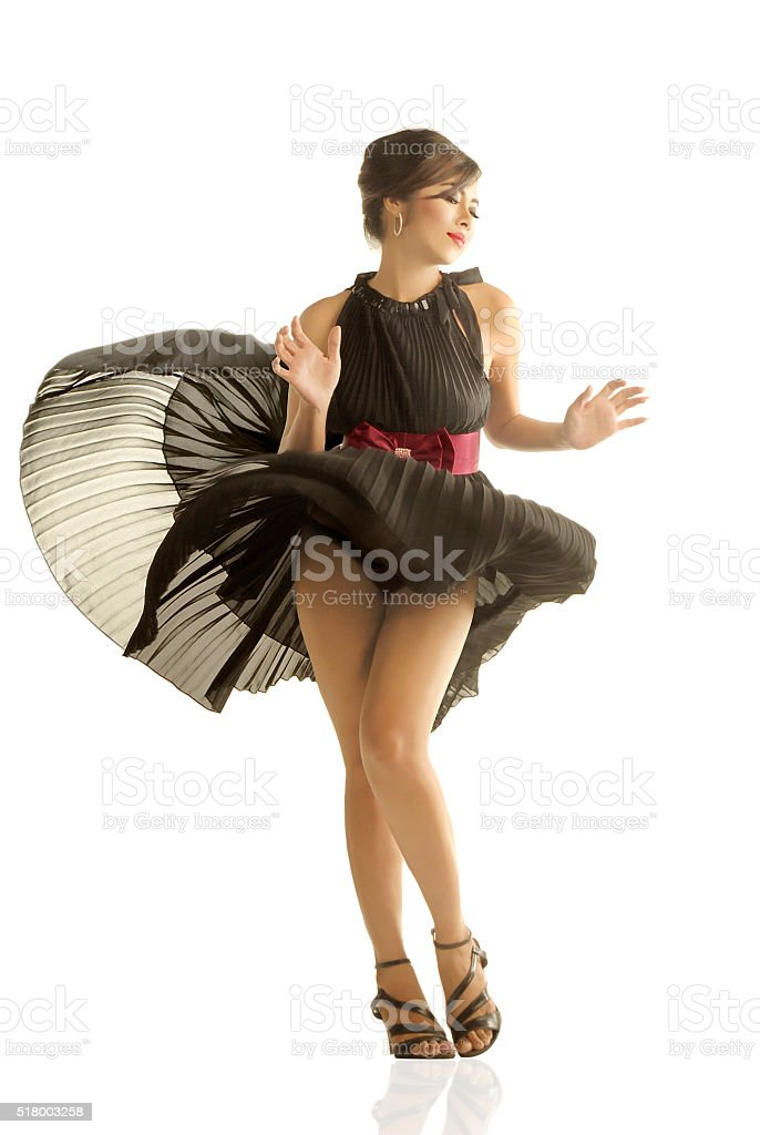 Marilyn Monroe Style stock photo