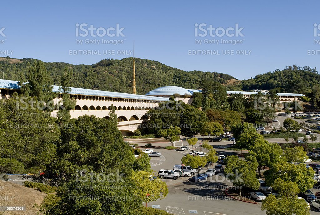 Marin County Civic Center stock photo