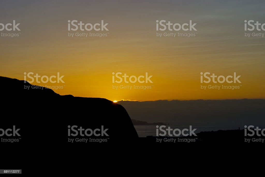 Marin County Sunrise stock photo