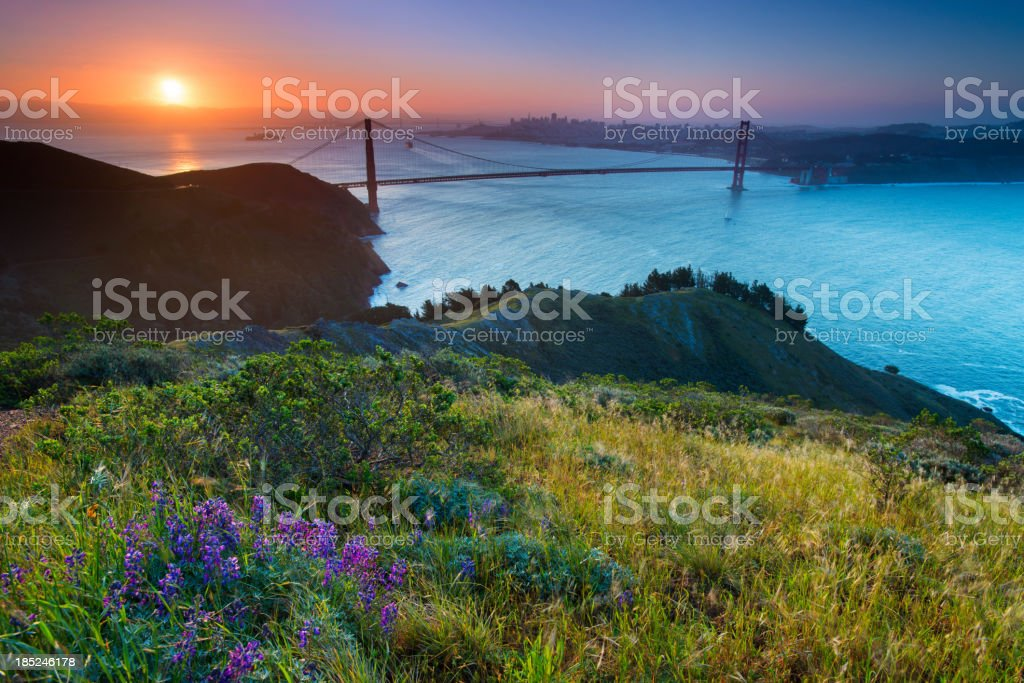Marin Headlands stock photo
