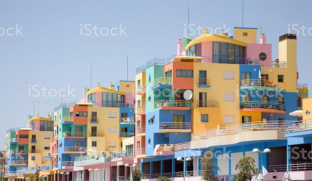 Marina Apartments stock photo