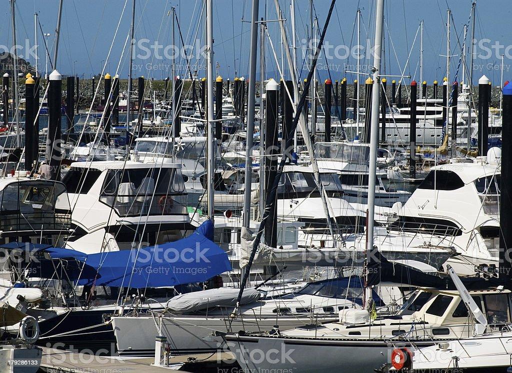 Marina at Mackay stock photo
