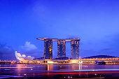 Marina Bay Sands building.
