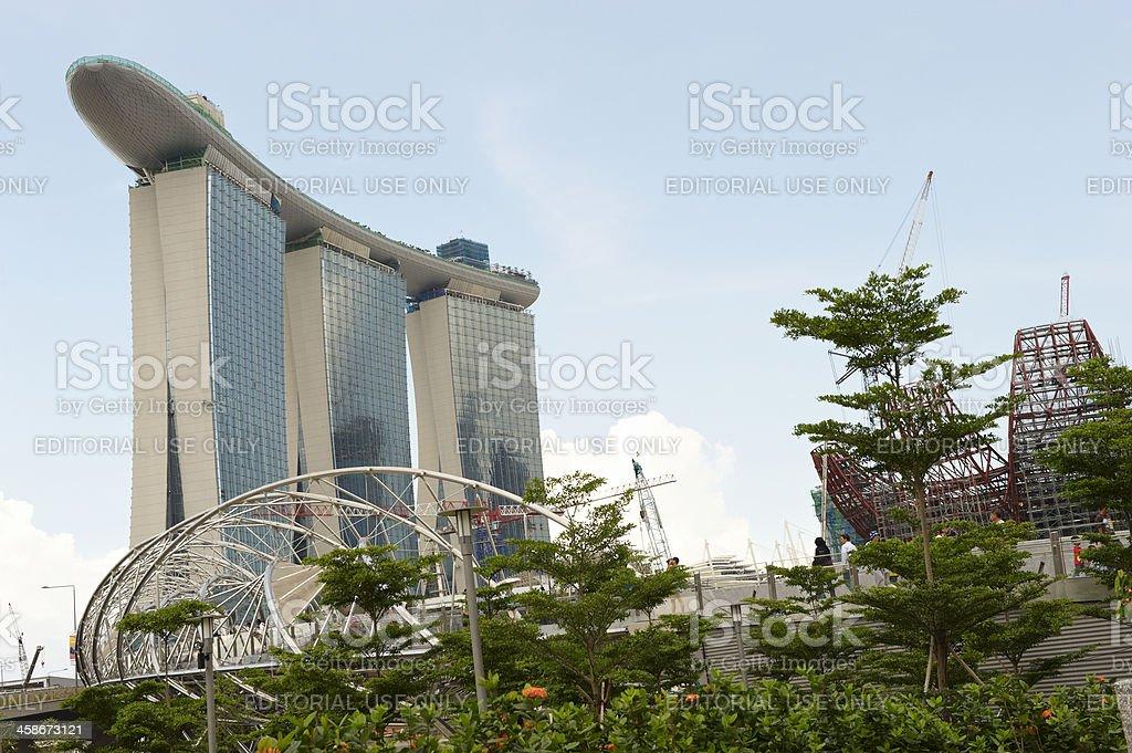 Marina Bay Sands Hotel royalty-free stock photo