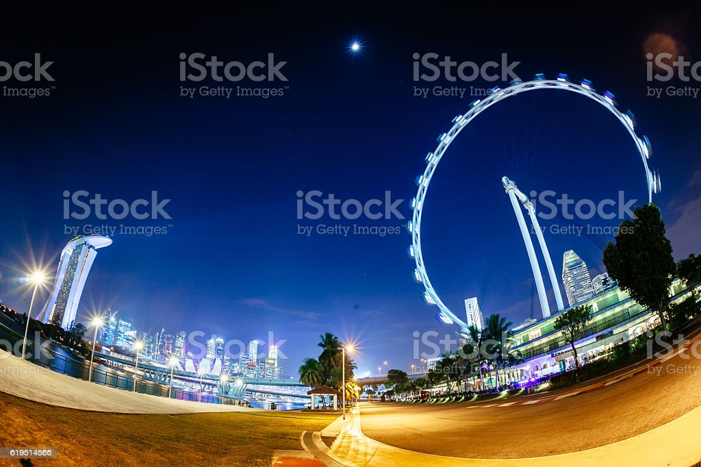 Marina Bay, Singapore stock photo