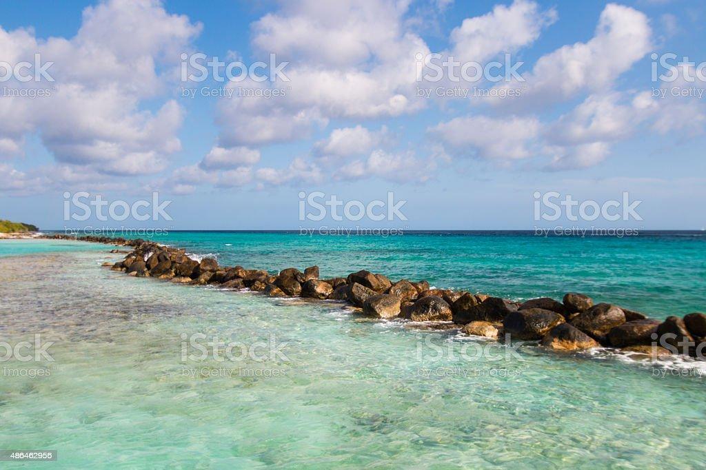 Marina Beach stock photo