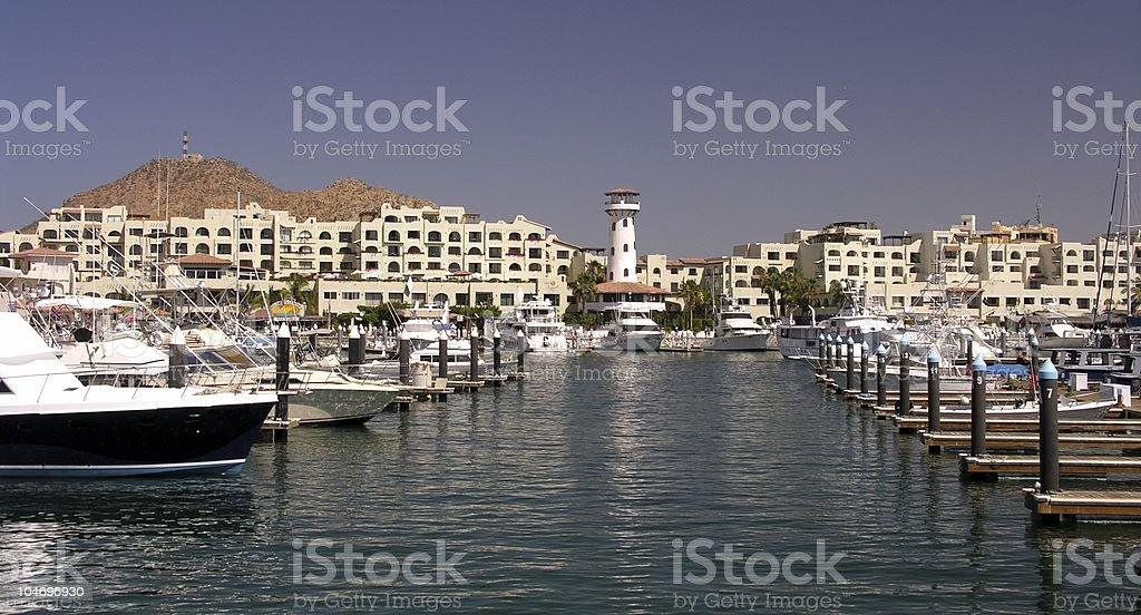 Marina Cabo San Lucas No.3 royalty-free stock photo
