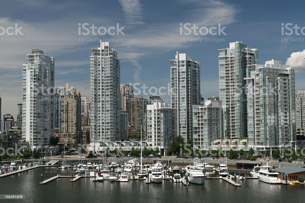 Marina City royalty-free stock photo