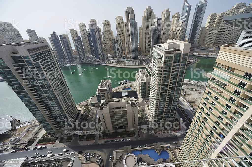 Marina complex royalty-free stock photo