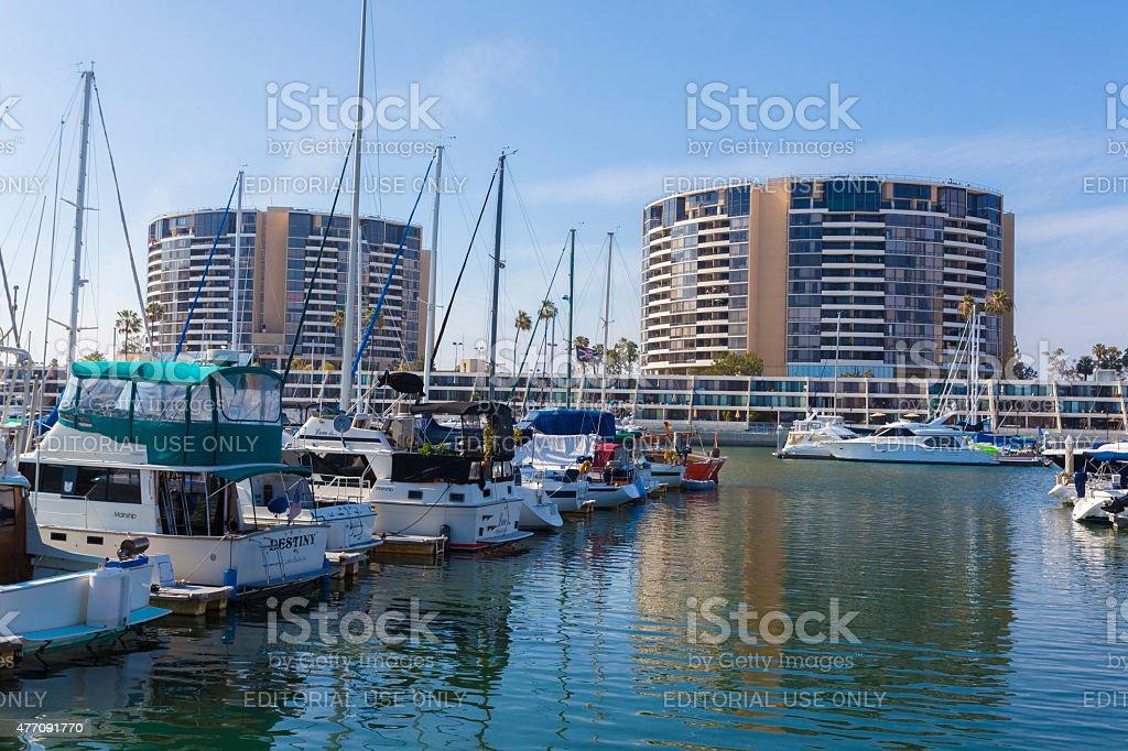 Marina Del Ray - Los Angeles stock photo