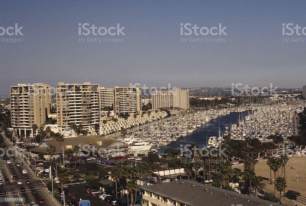 Marina Del Rey royalty-free stock photo