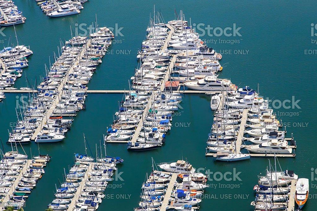 Marina del Rey stock photo