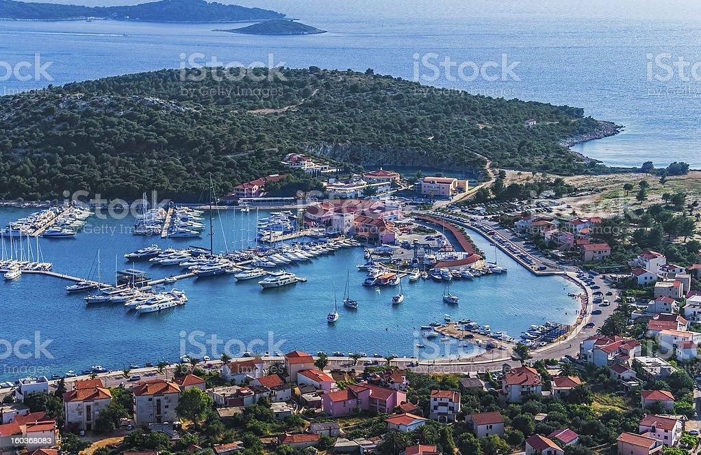 Marina Frapa royalty-free stock photo