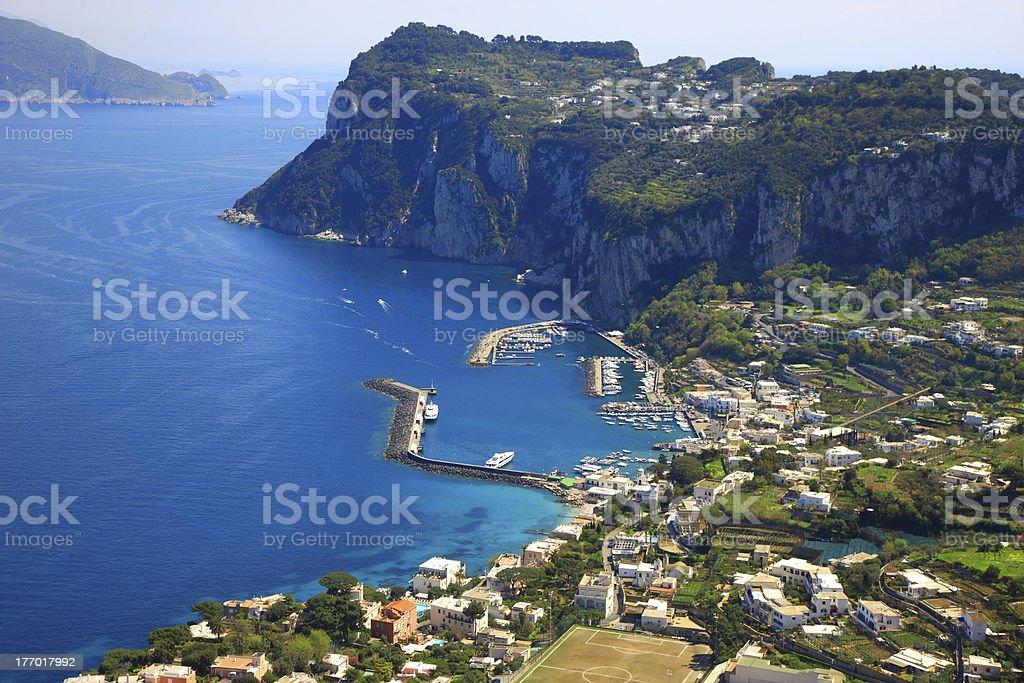 Marina Grande,Capri,Italy stock photo