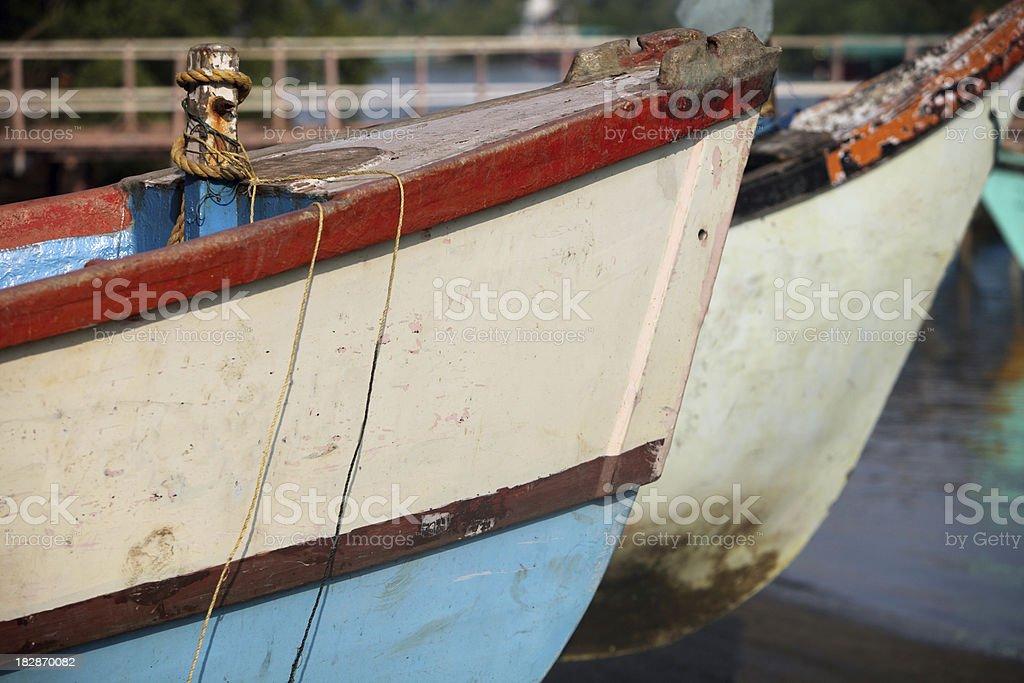 Marina in Goa royalty-free stock photo