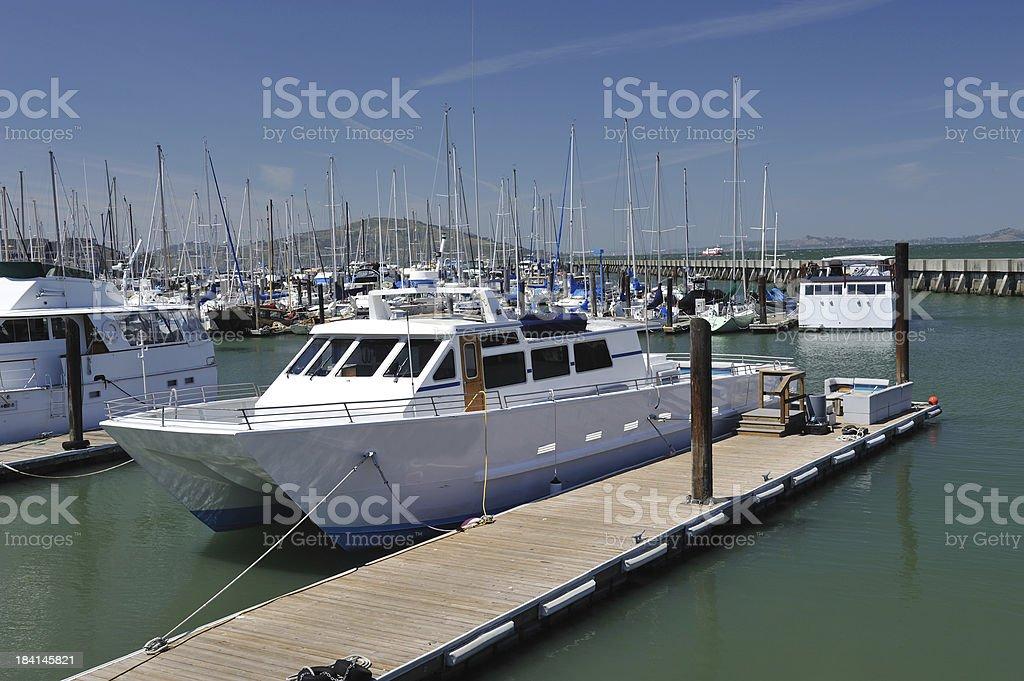 Marina in San Francisco royalty-free stock photo