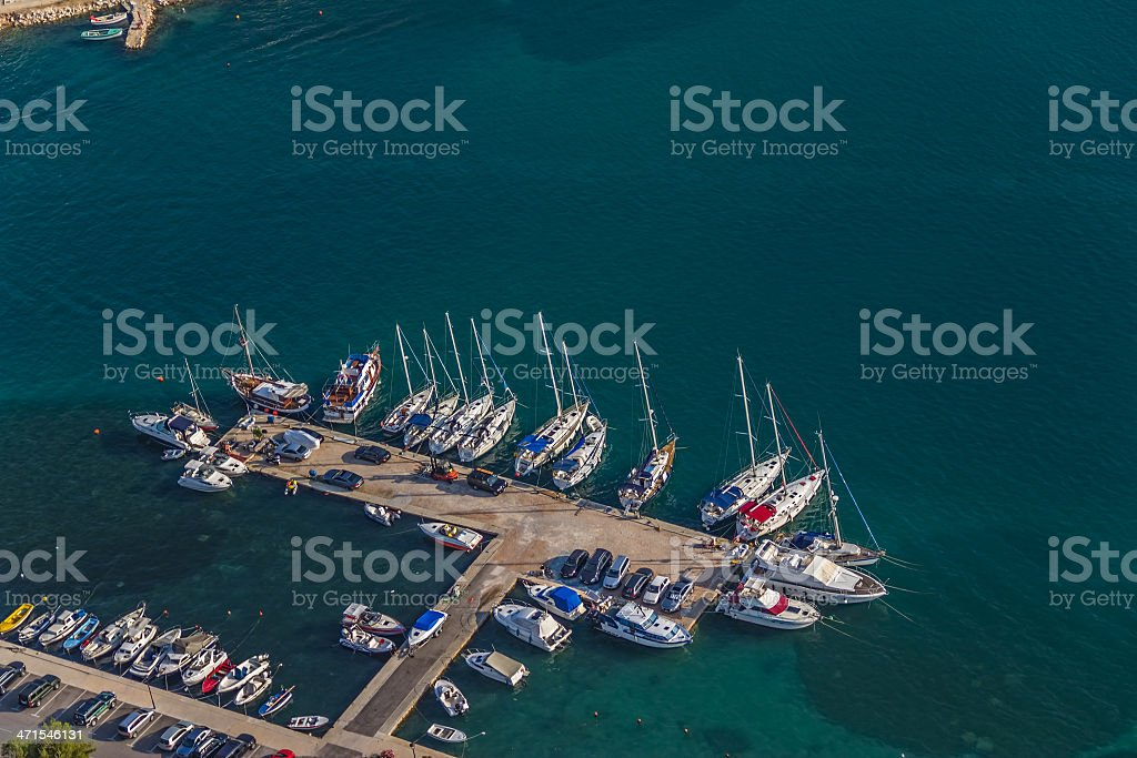 Marina Murter aerial royalty-free stock photo