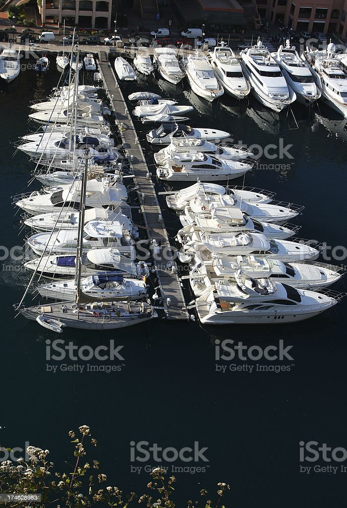 Marina royalty-free stock photo
