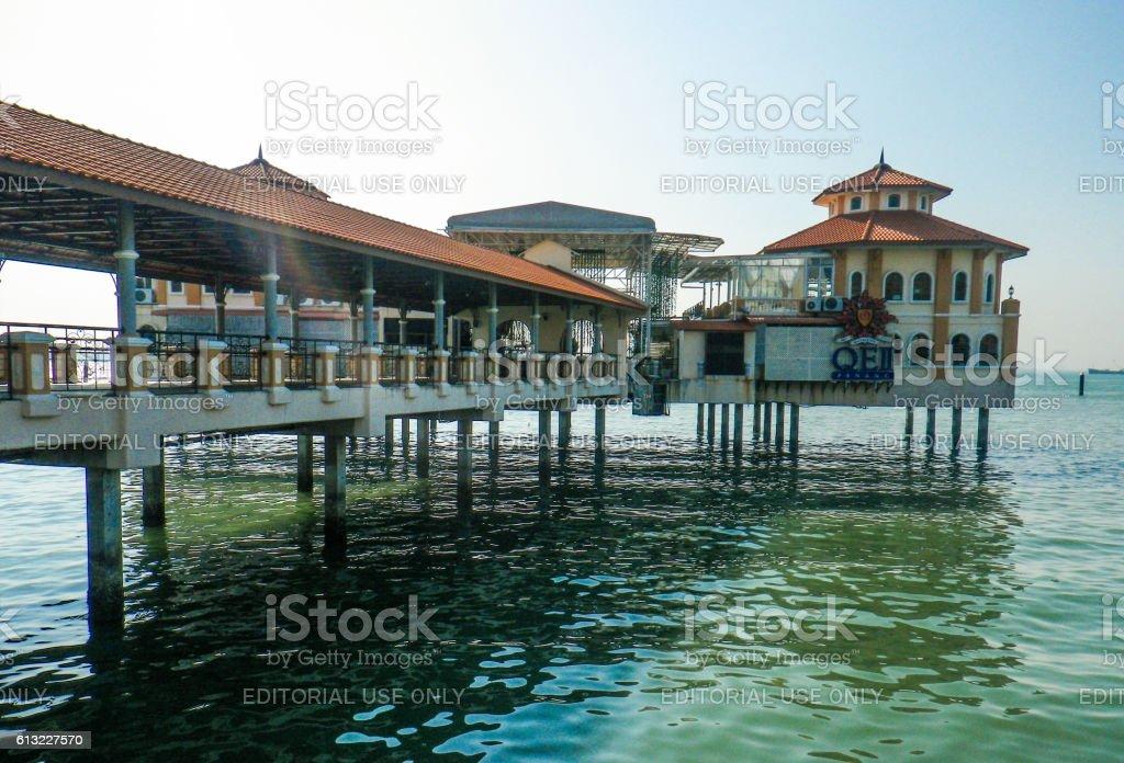 Marina UNESCO World Heritage Site Georgetown Penang Church Street Asia stock photo