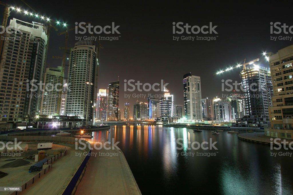 Marina Walk stock photo
