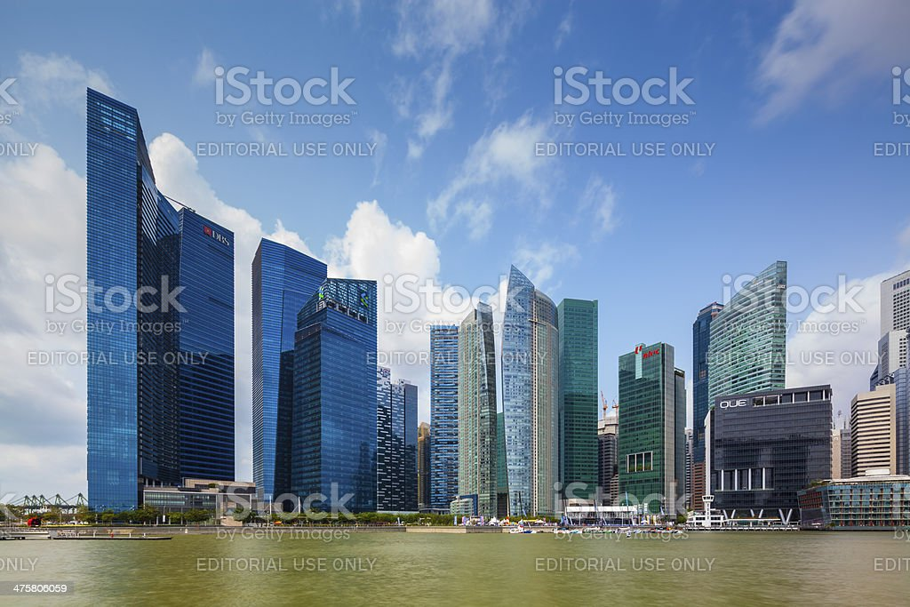 Marinal Bay Financial Centre - Stock Image stock photo