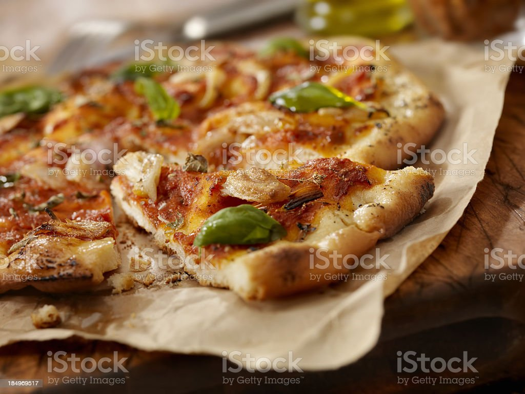 Marinara Pizza stock photo