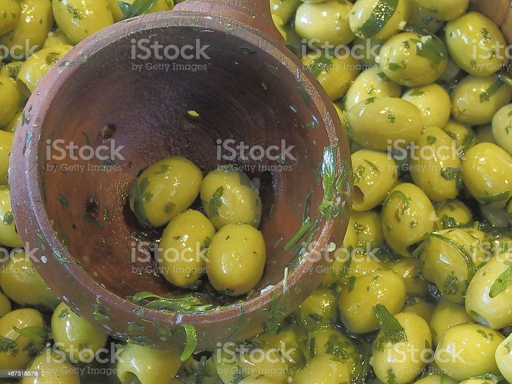 Маринованных оливок Стоковые фото Стоковая фотография