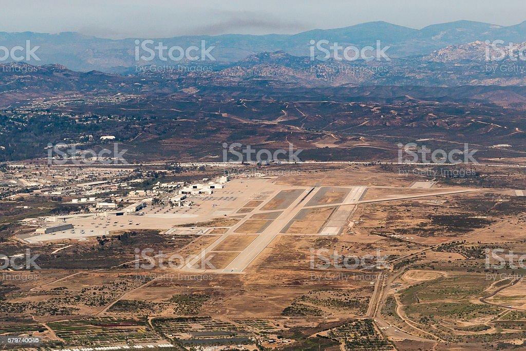 Marine Corps Air Station Miramar stock photo