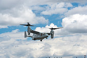 U.S. Marine Corps MV-22 Osprey Helicopter Air Show Hillsboro Oregon