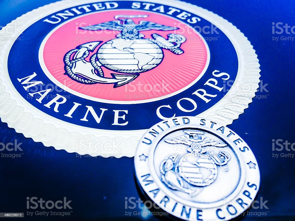 Marine Corps Pride stock photo