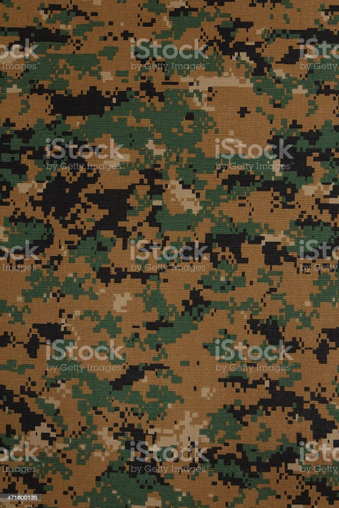 US marine force marpat digital camouflage fabric texture backgro stock photo