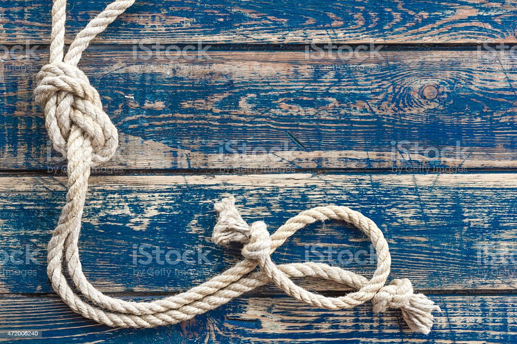 Marine knot stock photo