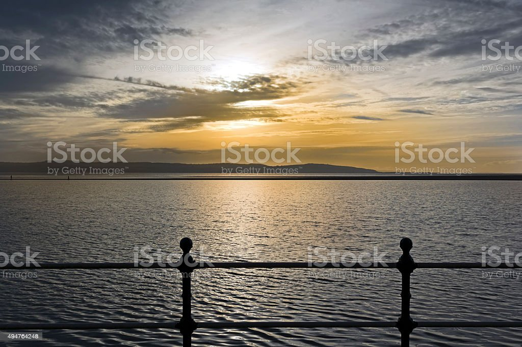 Marine Lake, West kirby, Wirral stock photo