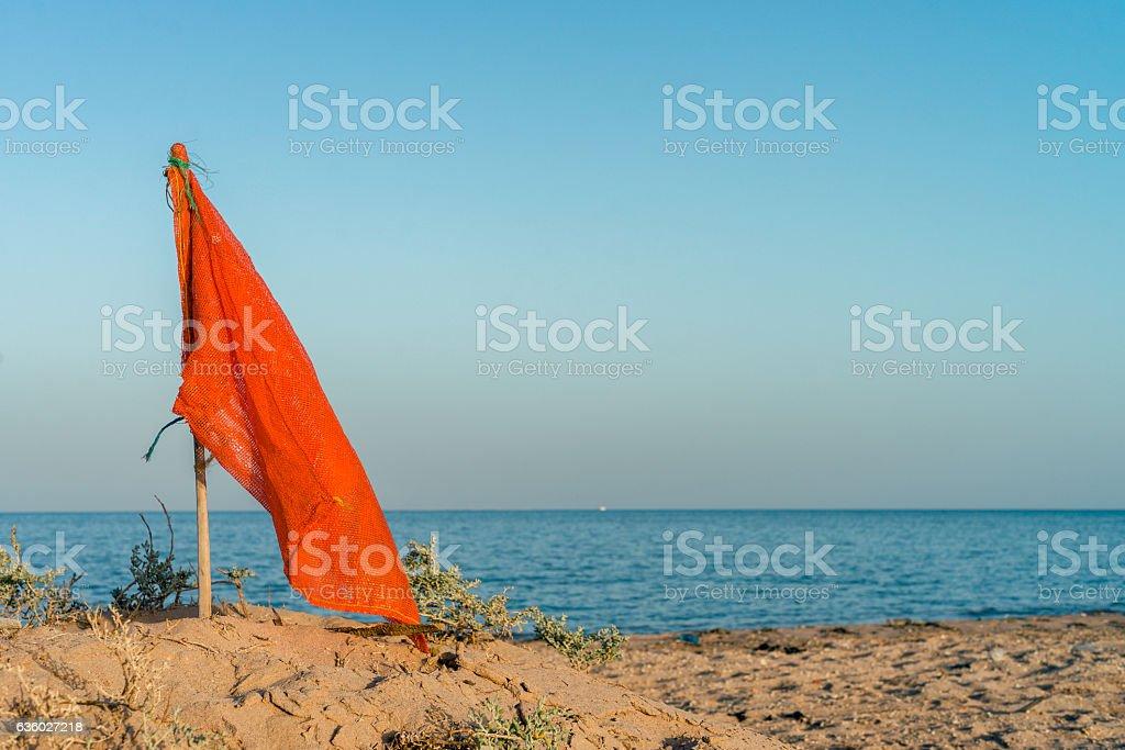 Marine landscape in Safaga, Egypt stock photo