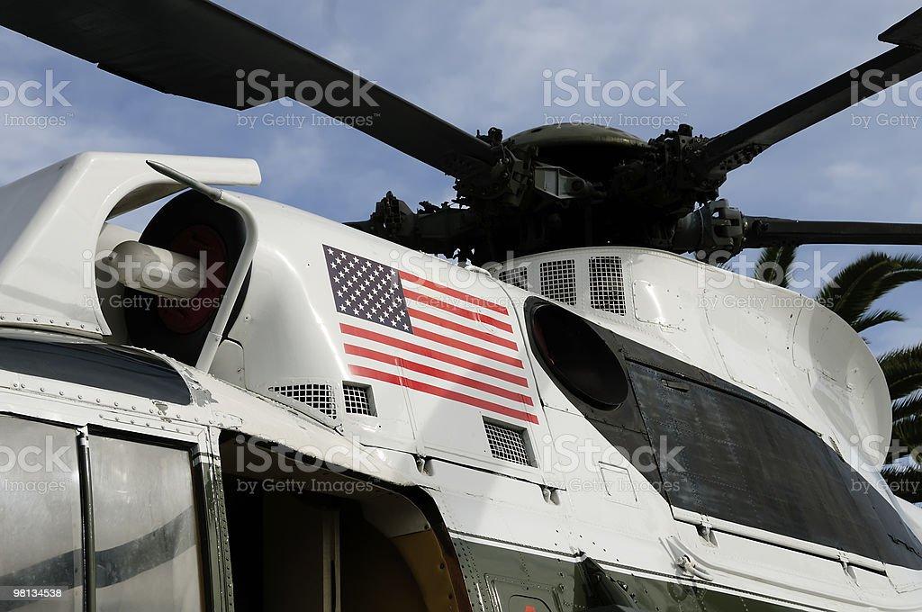 Marine One Helicopter stock photo