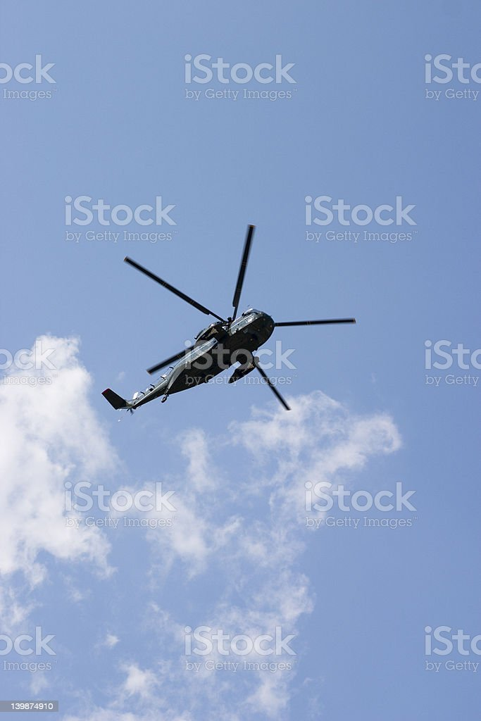 Marine One royalty-free stock photo