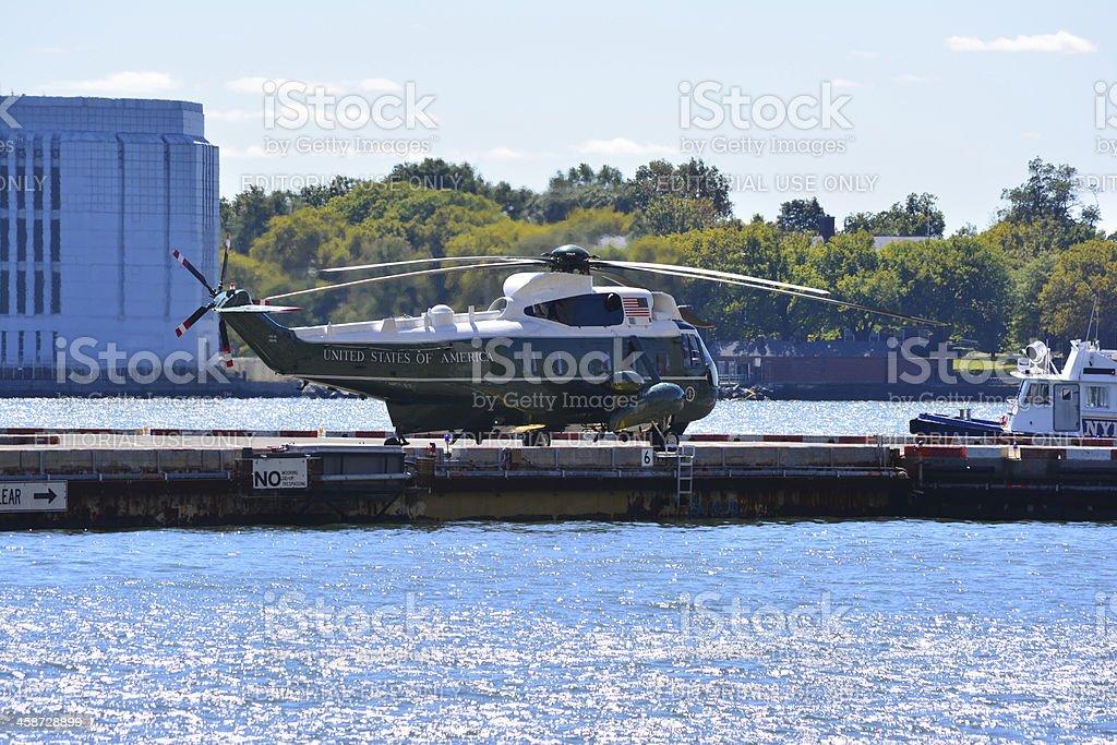 Marine One. stock photo