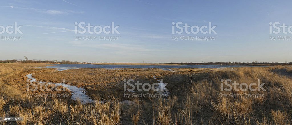 Marine Park Salt Marsh stock photo
