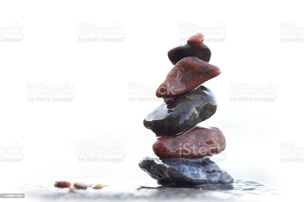 marine pebble royalty-free stock photo
