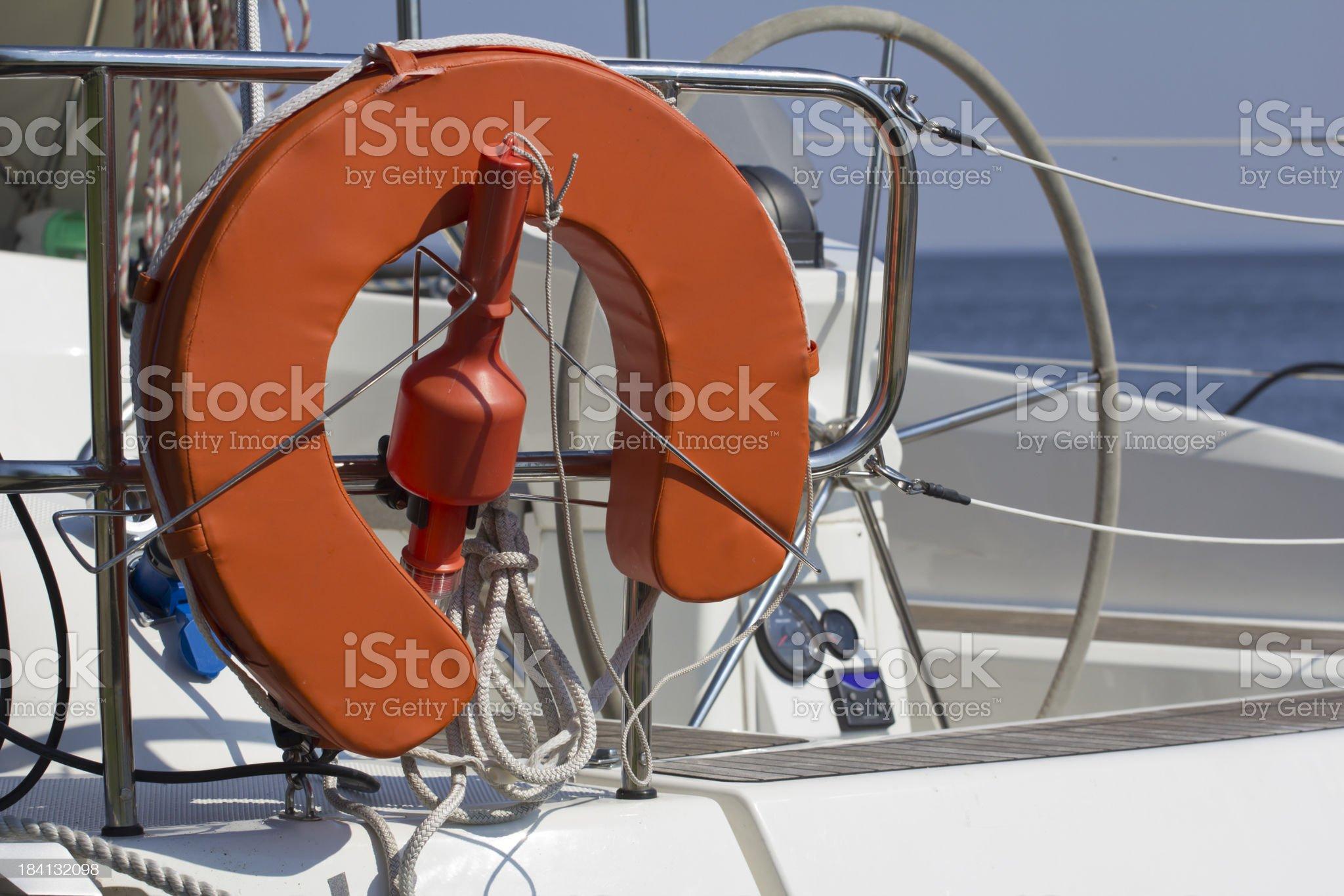 Marine Safety Equipment royalty-free stock photo