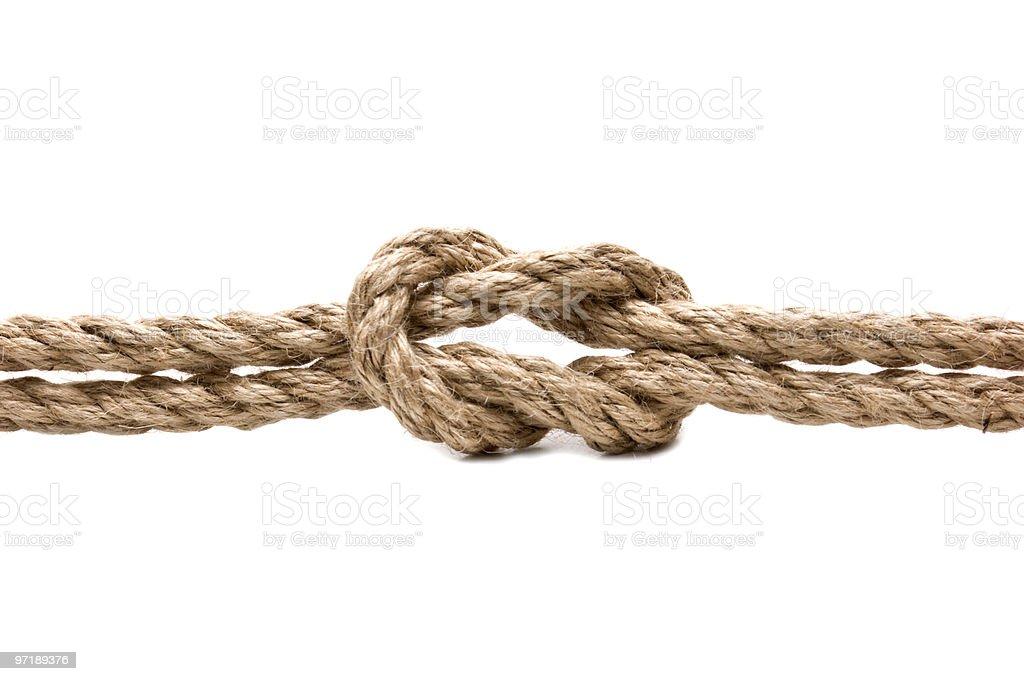 marines knot royalty-free stock photo