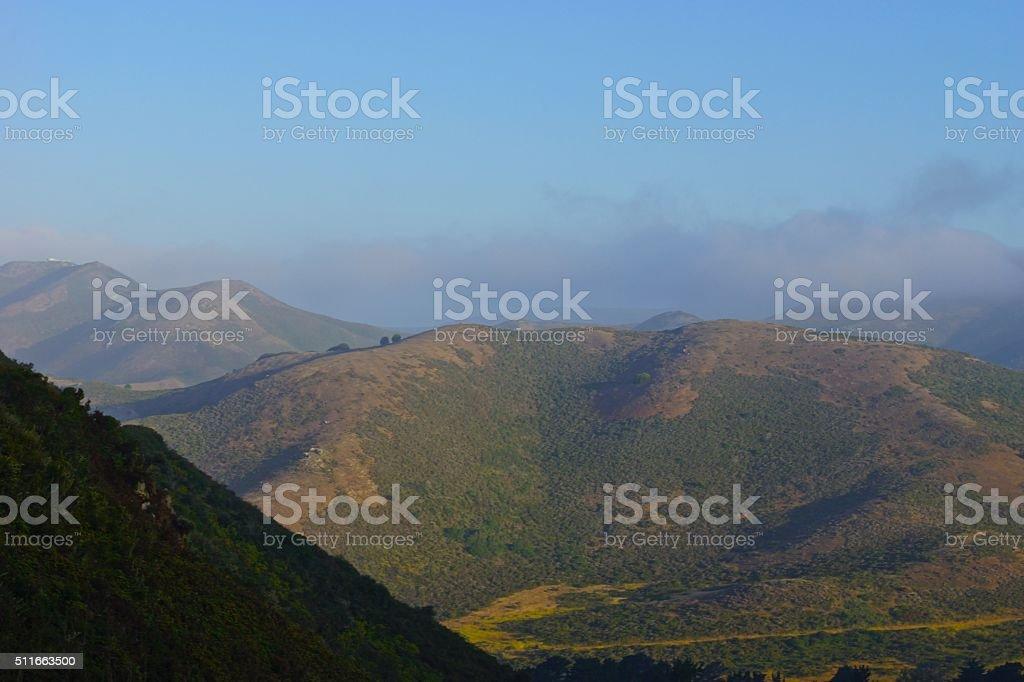 Marin's Mt. Tam stock photo