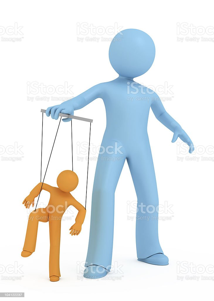 Marionette. royalty-free stock photo