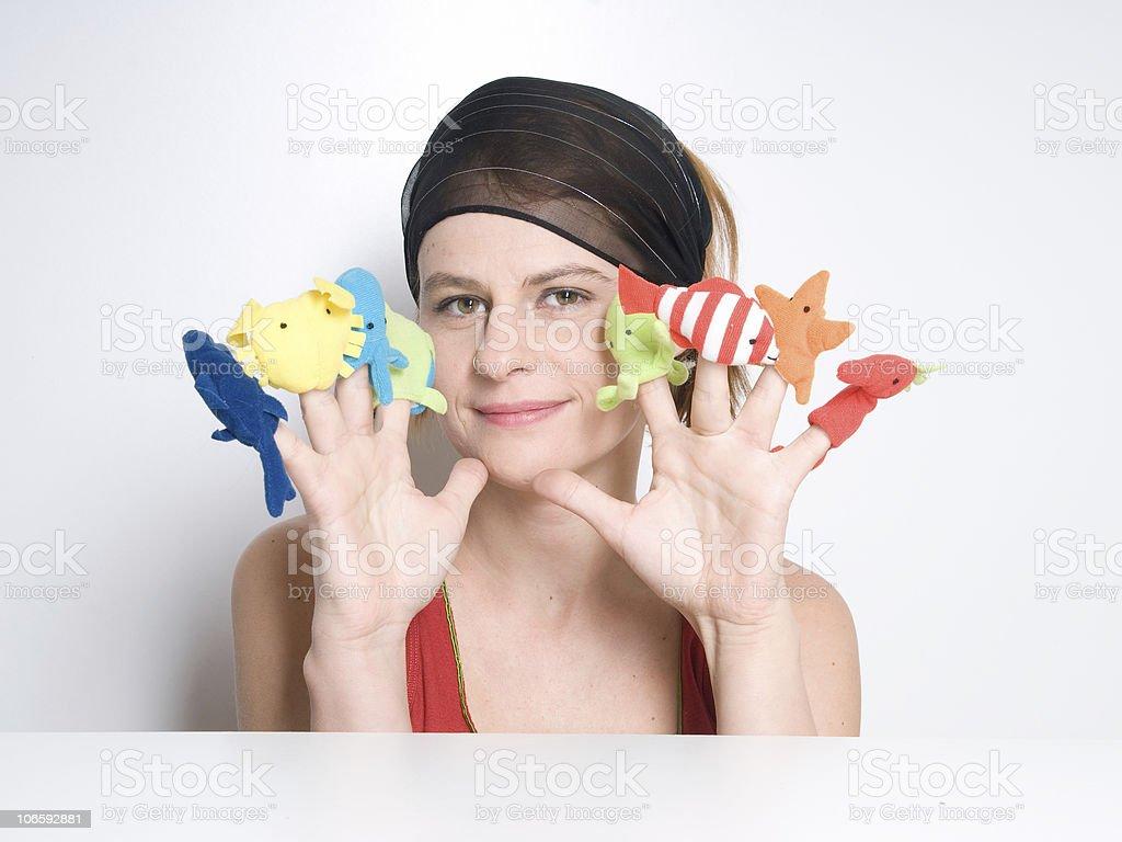 marionette stock photo