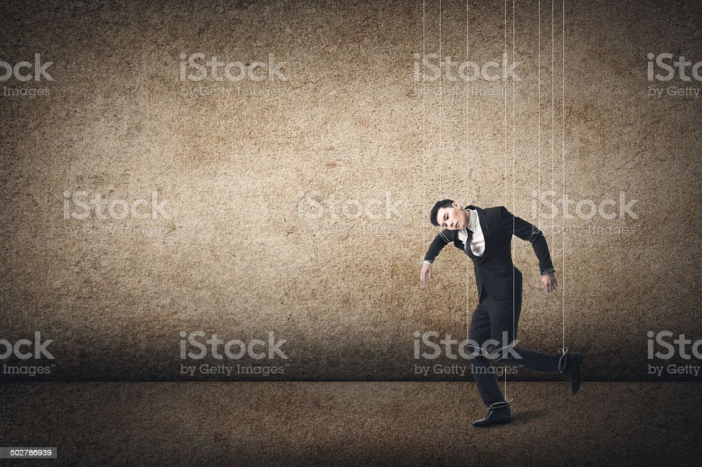 Marionette stock photo