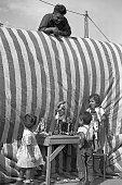 marionette show at Gutierrez Show 1947