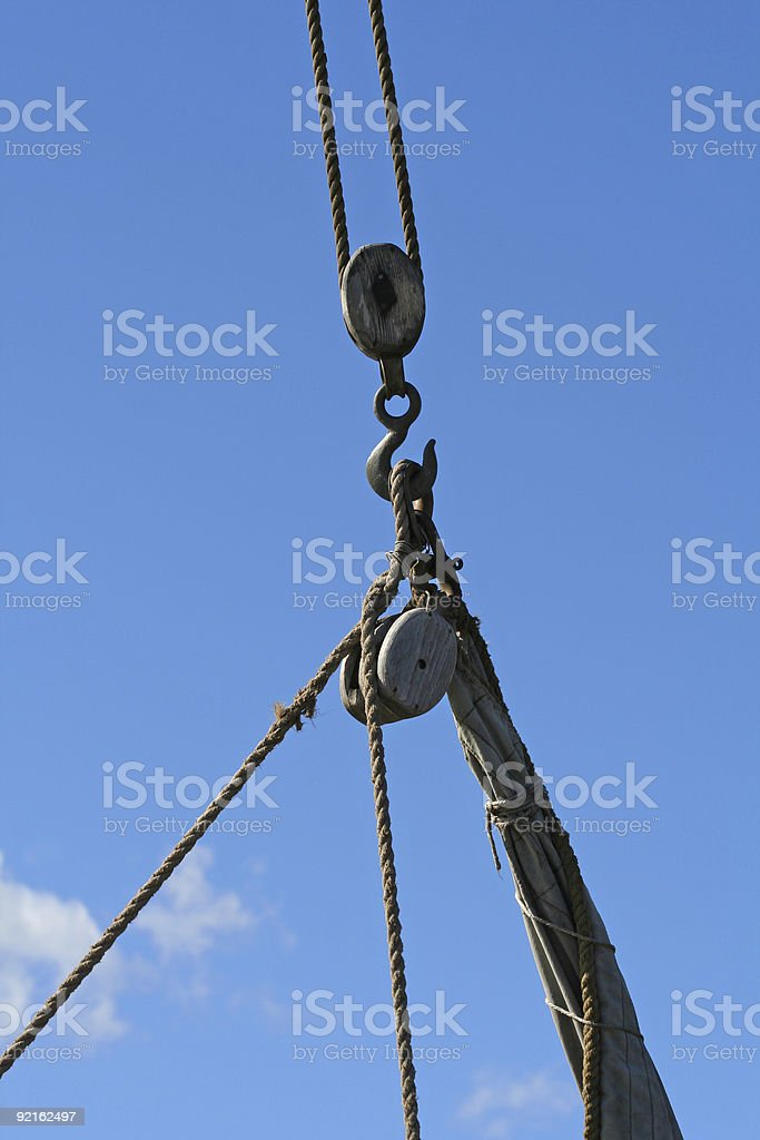 Maritime antiques royalty-free stock photo