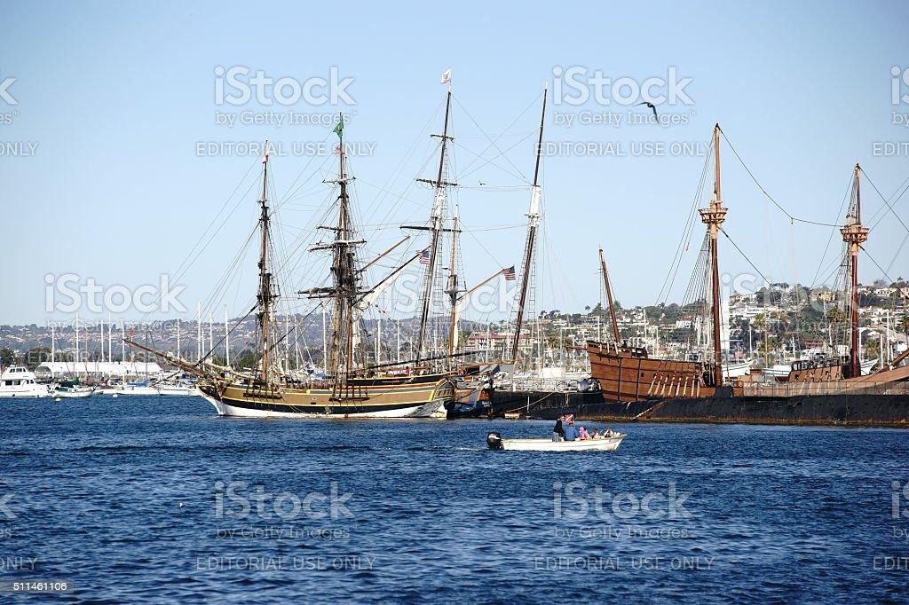 Maritime Museum San Diego stock photo