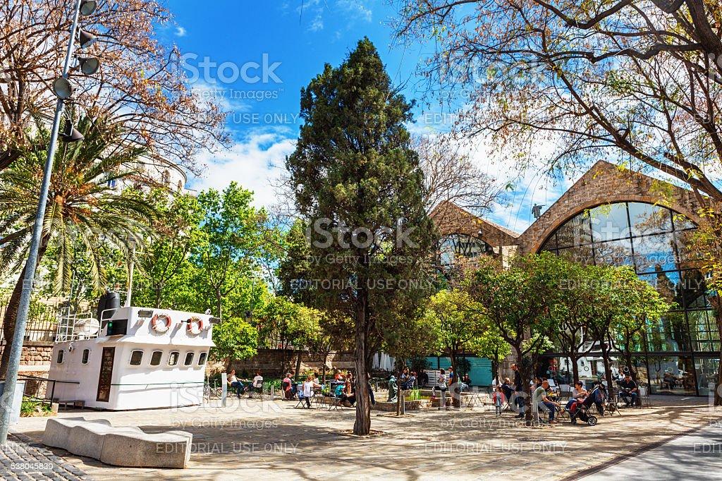 Barcelona, Spain - April 17, 2016: Maritime Sea Museum stock photo