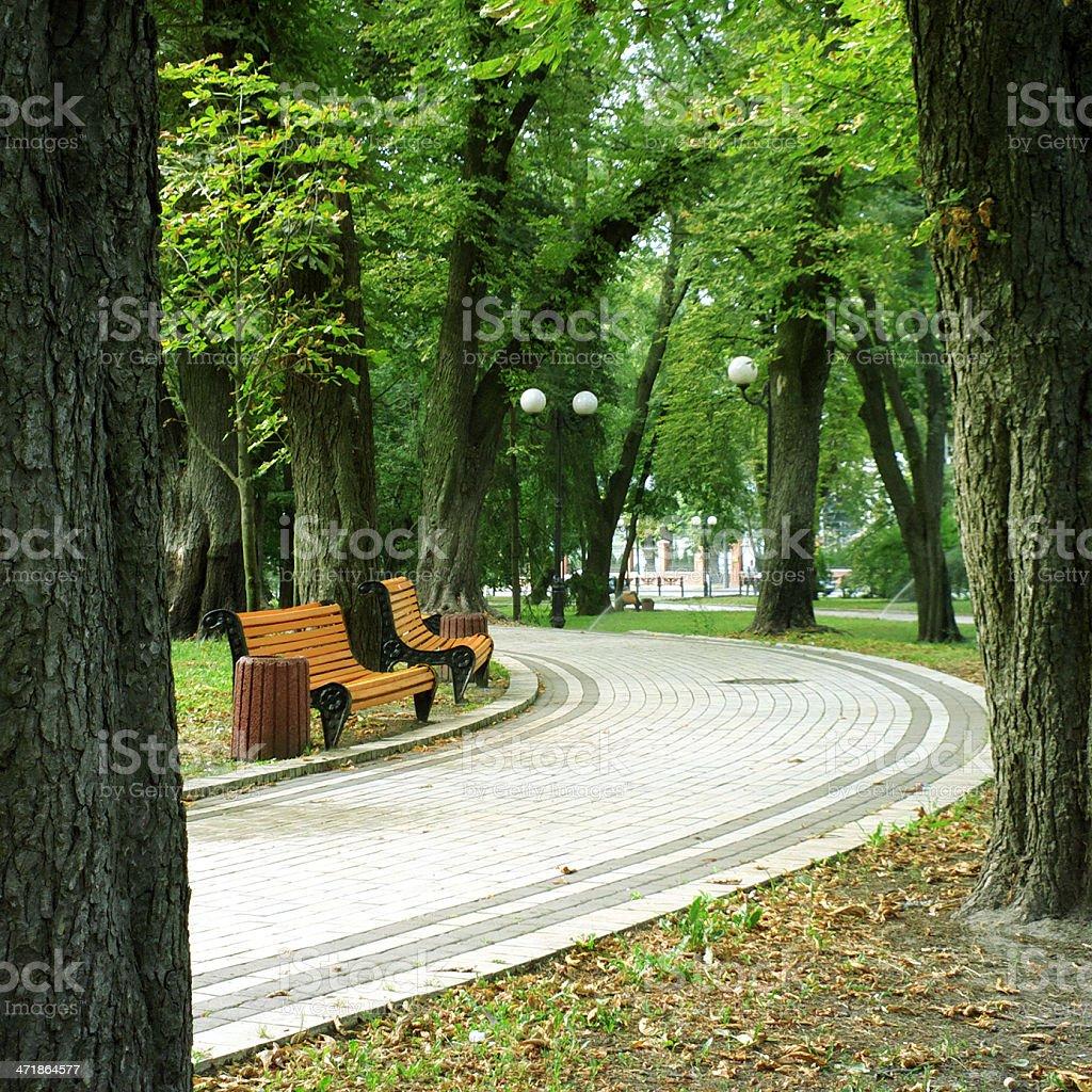 Mariyinsky park royalty-free stock photo